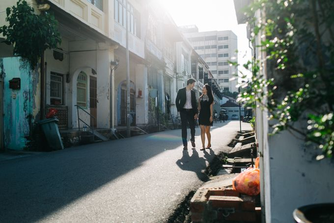 Street Prewedding by Amelia Soo photography - 015