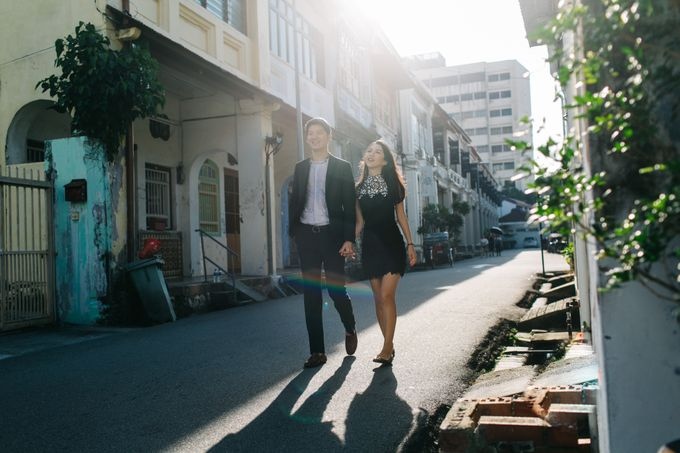 Street Prewedding by Amelia Soo photography - 014