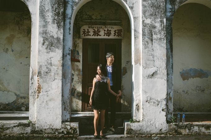 Street Prewedding by Amelia Soo photography - 031