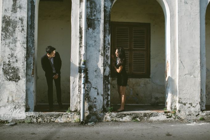 Street Prewedding by Amelia Soo photography - 030