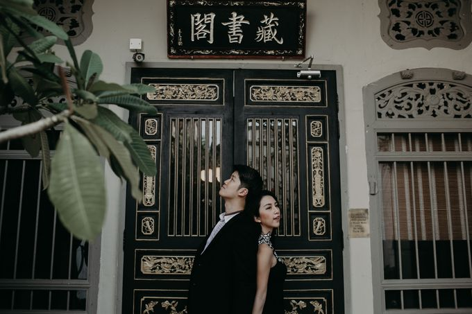 Street Prewedding by Amelia Soo photography - 034