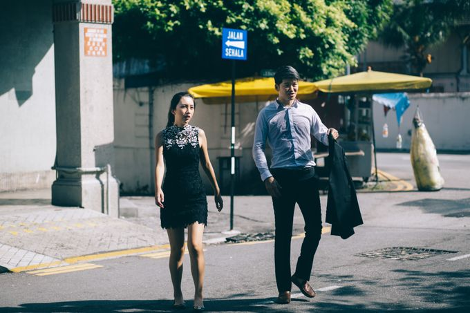 Street Prewedding by Amelia Soo photography - 012