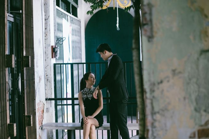 Street Prewedding by Amelia Soo photography - 011