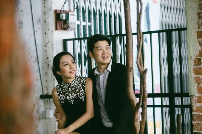 Street Prewedding by Amelia Soo photography - 010