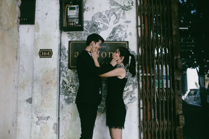 Street Prewedding by Amelia Soo photography - 008