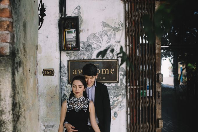 Street Prewedding by Amelia Soo photography - 006