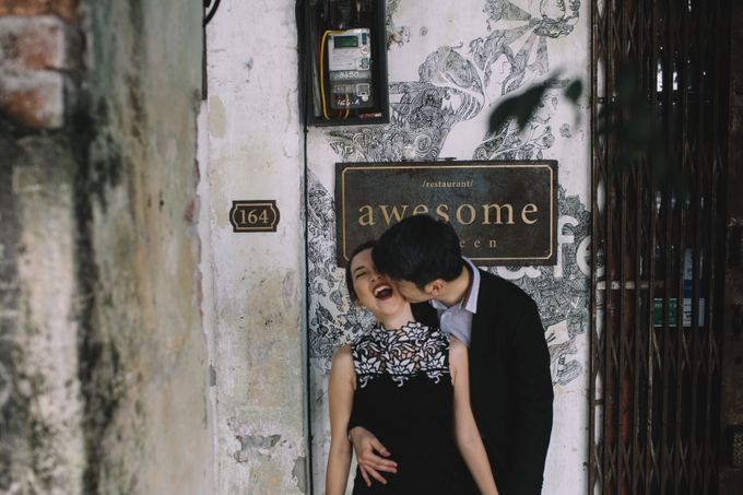 Street Prewedding by Amelia Soo photography - 007