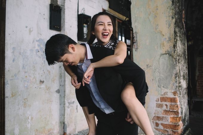 Street Prewedding by Amelia Soo photography - 004