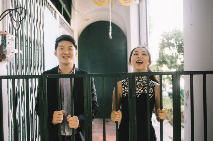 Street Prewedding by Amelia Soo photography - 002