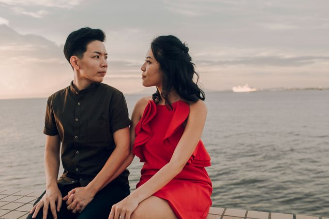 Sunset casual couple shoot in Penang by Amelia Soo photography - 043