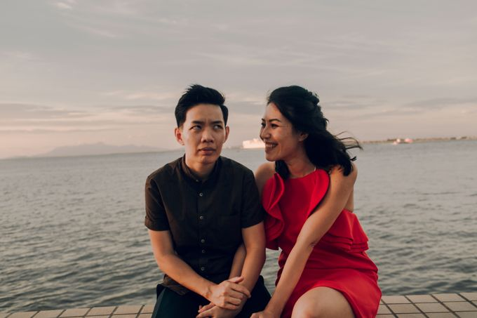 Sunset casual couple shoot in Penang by Amelia Soo photography - 044