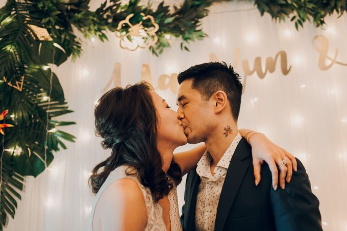 Tropical themed wedding reception by Amelia Soo photography - 040