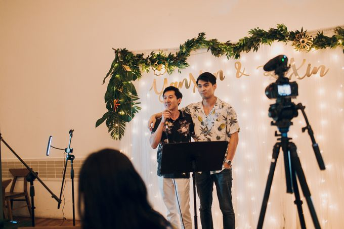 Tropical themed wedding reception by Amelia Soo photography - 044