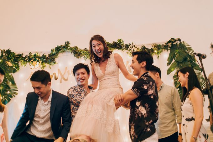 Tropical themed wedding reception by Amelia Soo photography - 049