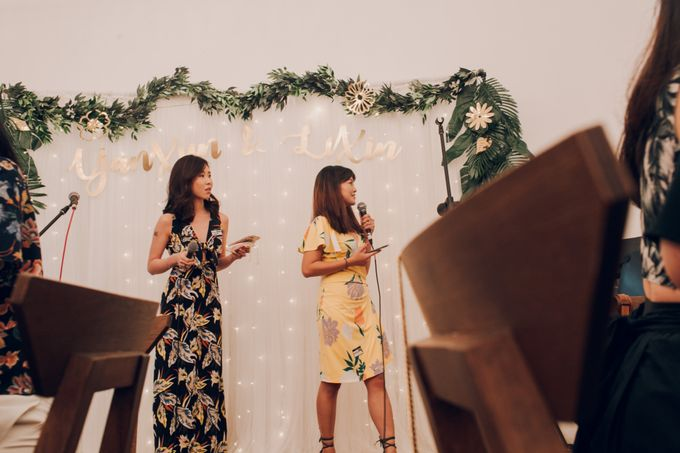 Tropical themed wedding reception by Amelia Soo photography - 007