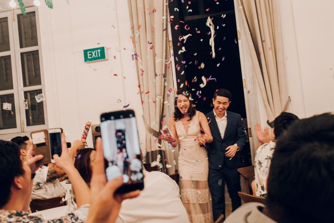 Tropical themed wedding reception by Amelia Soo photography - 011