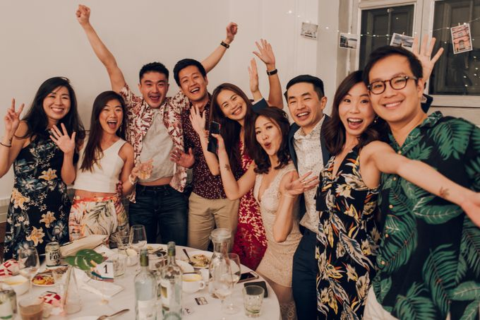 Tropical themed wedding reception by Amelia Soo photography - 027