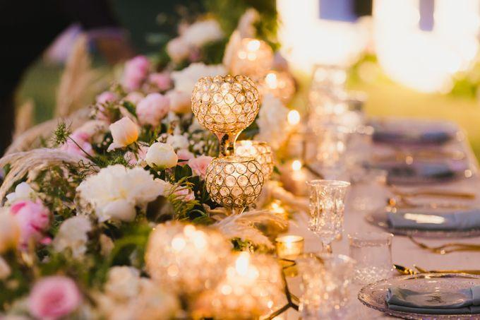 Ian & Farra Intimate Beach Villa Wedding by Vilia Wedding Planner - 032