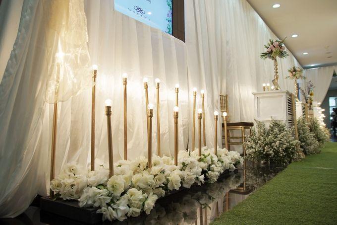 Nadya & darian decoration Wedding by Our Wedding & Event Organizer - 005