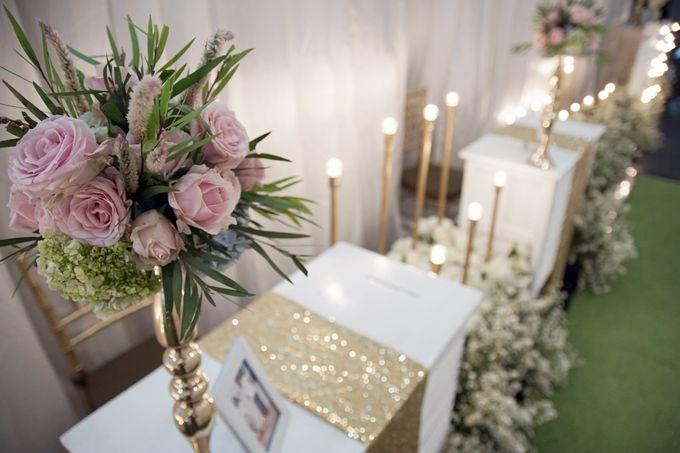 Nadya & darian decoration Wedding by Our Wedding & Event Organizer - 007