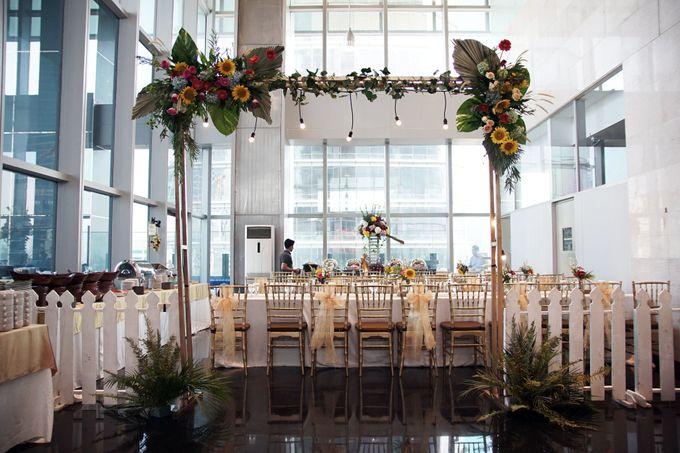 Nadya & darian decoration Wedding by Our Wedding & Event Organizer - 013