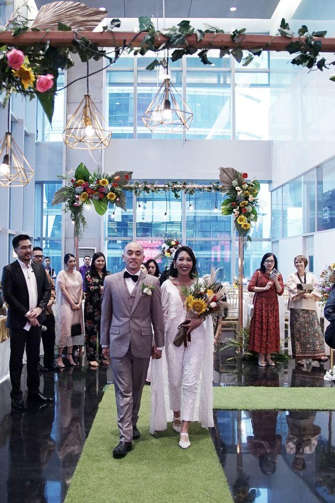 Nadya & darian wedding reception by Our Wedding & Event Organizer - 014