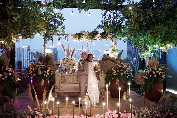 Nadya & darian wedding reception by Our Wedding & Event Organizer - 016