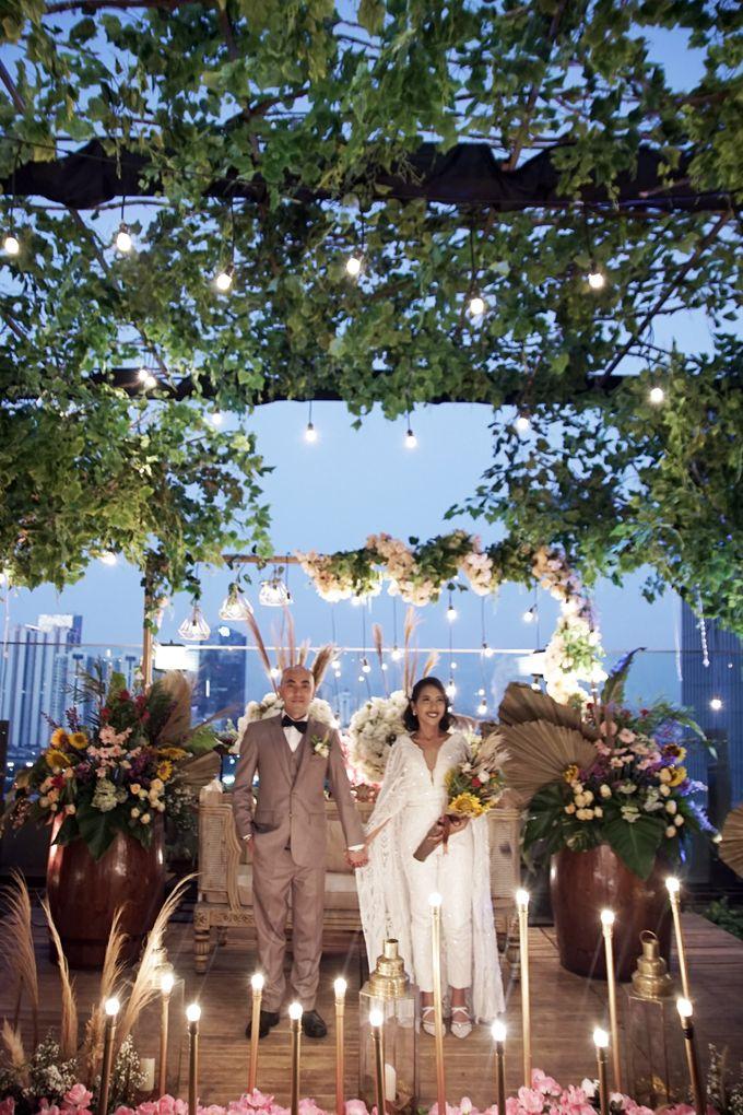 Nadya & darian wedding reception by Our Wedding & Event Organizer - 017