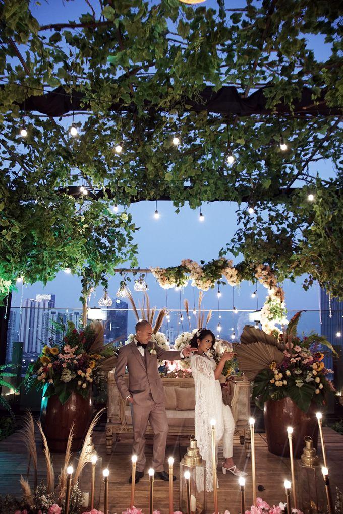 Nadya & darian wedding reception by Our Wedding & Event Organizer - 018