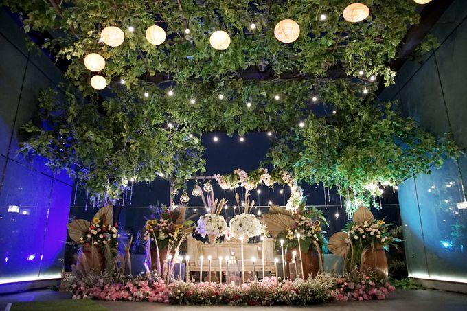 Nadya & darian decoration Wedding by Our Wedding & Event Organizer - 023