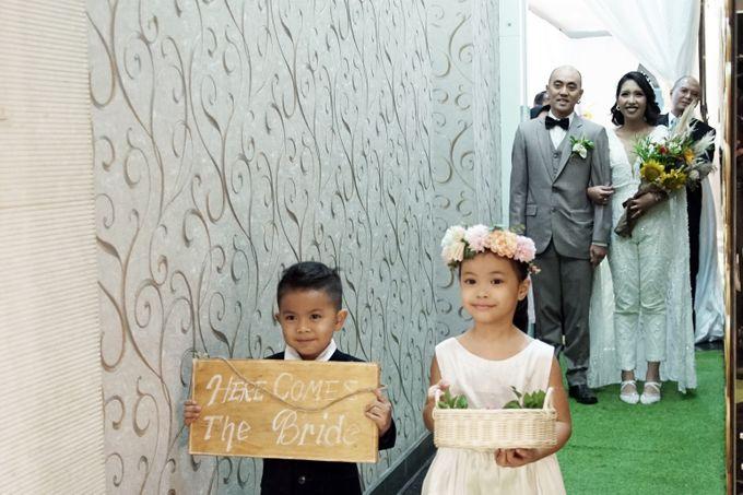 Nadya & darian wedding reception by Our Wedding & Event Organizer - 020