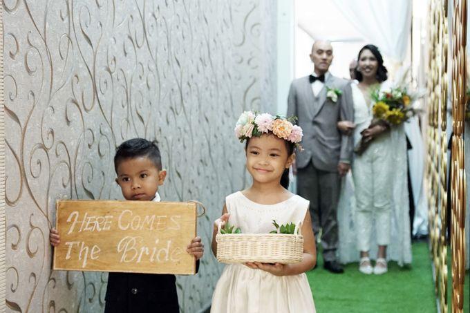 Nadya & darian wedding reception by Our Wedding & Event Organizer - 021