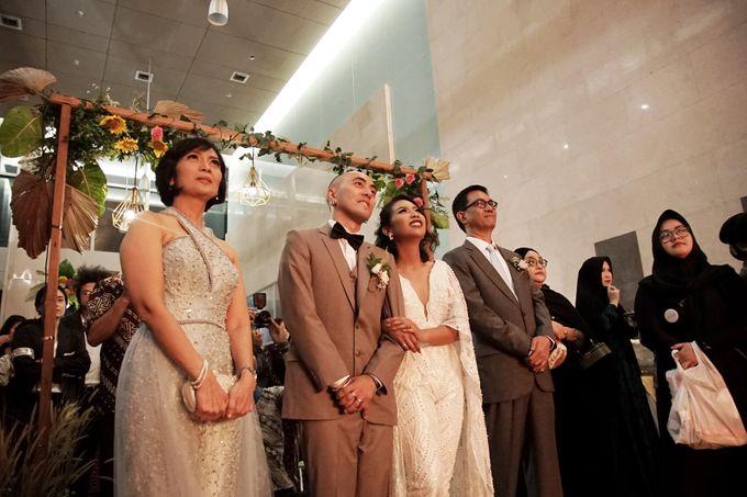 Nadya & darian wedding reception by Our Wedding & Event Organizer - 024
