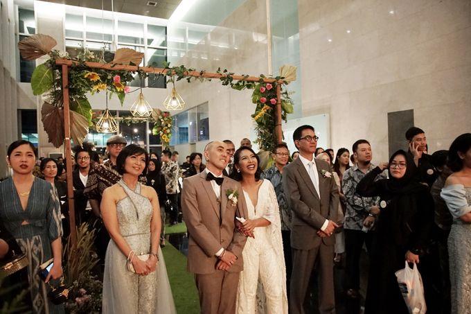 Nadya & darian wedding reception by Our Wedding & Event Organizer - 026