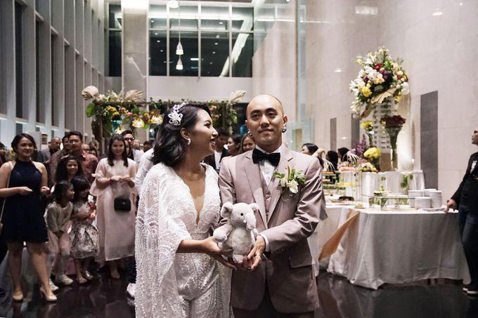 Nadya & darian wedding reception by Our Wedding & Event Organizer - 029