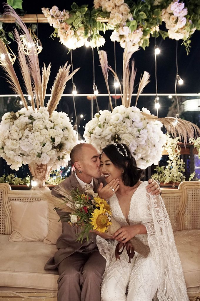 Nadya & darian wedding reception by Our Wedding & Event Organizer - 036