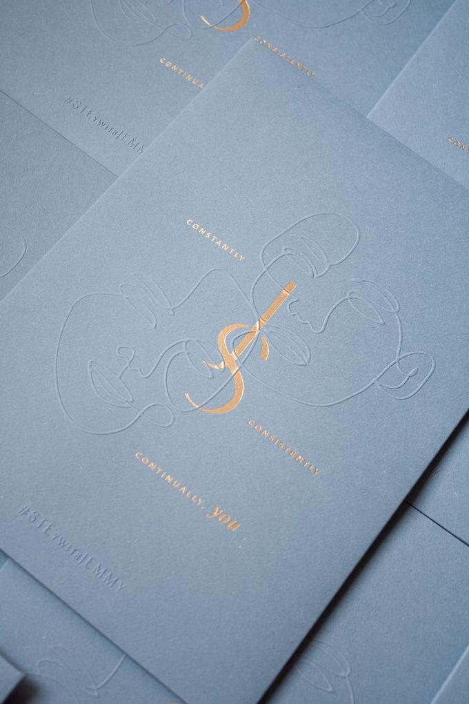Jemmy & Stephanie Invitation Suite by Sho Paper - 004