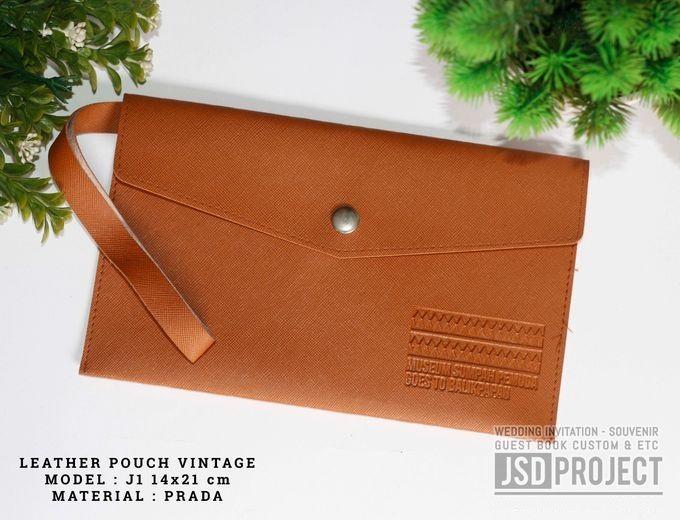 Mini Pouch Leather Vintage Elegant PVC Material Prada Hujan by JSD PROJECT (Invitation Card & Souvenir) - 007