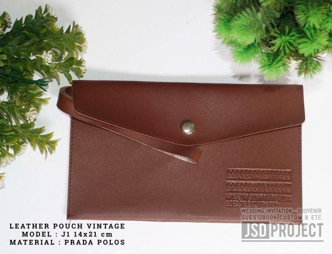 Mini Pouch Leather Vintage Elegant PVC Material Prada Hujan by JSD PROJECT (Invitation Card & Souvenir) - 008