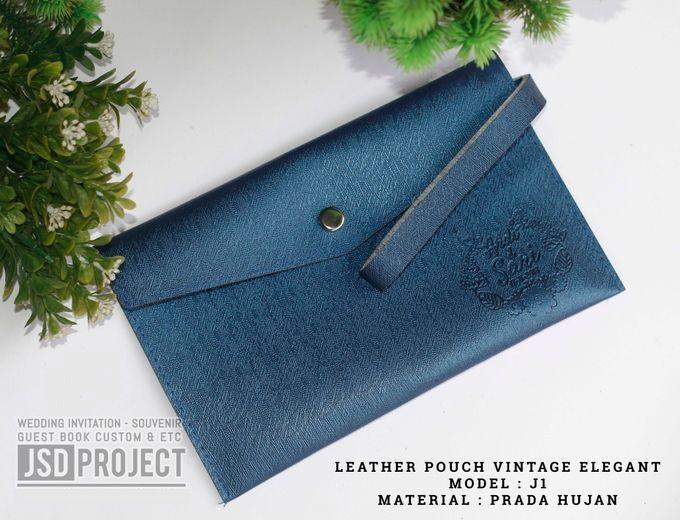 Mini Pouch Leather Vintage Elegant PVC Material Prada Hujan by JSD PROJECT (Invitation Card & Souvenir) - 006