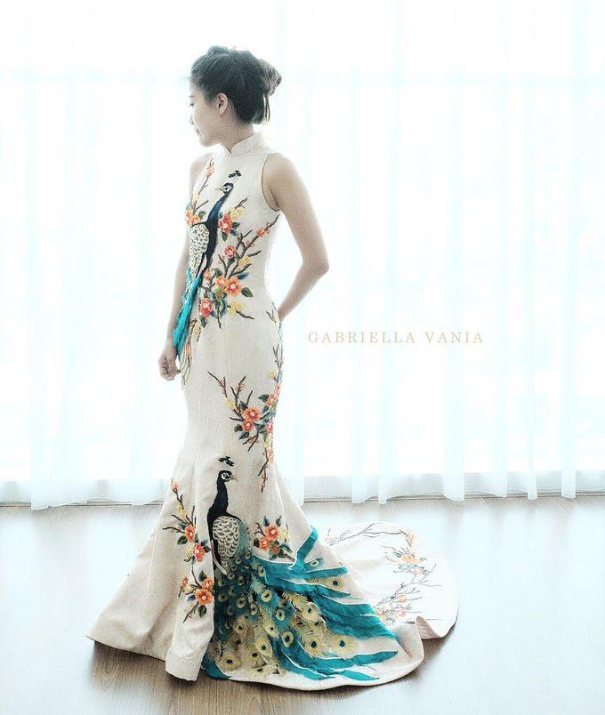 Cheongsam Embroidery - GV HERITAGE by GV by Gabriella Vania - 017