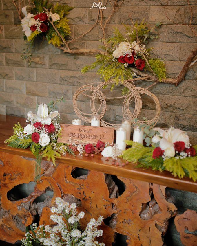 The Wedding of Dila & Imam di Villa Vii by Decor Everywhere - 011