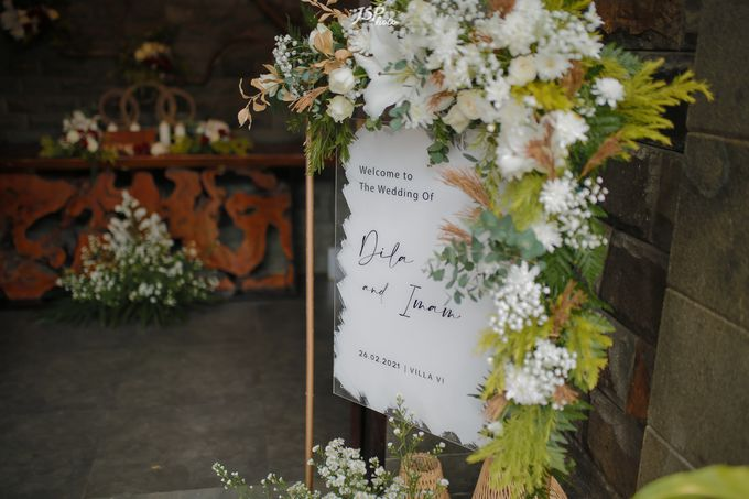 The Wedding of Dila & Imam di Villa Vii by Decor Everywhere - 005