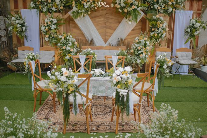 The Wedding of Dila & Imam di Villa Vii by Decor Everywhere - 001