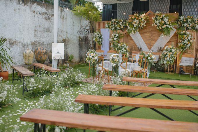 The Wedding of Dila & Imam di Villa Vii by Decor Everywhere - 014