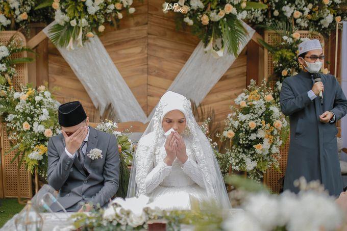 The Wedding of Dila & Imam di Villa Vii by Decor Everywhere - 027