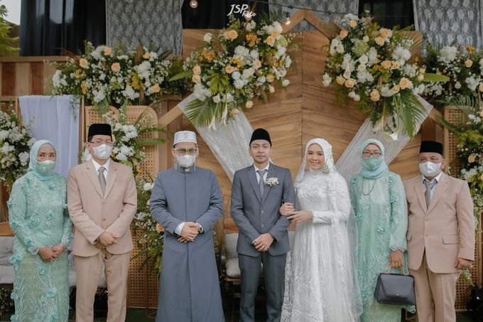 The Wedding of Dila & Imam di Villa Vii by Decor Everywhere - 028
