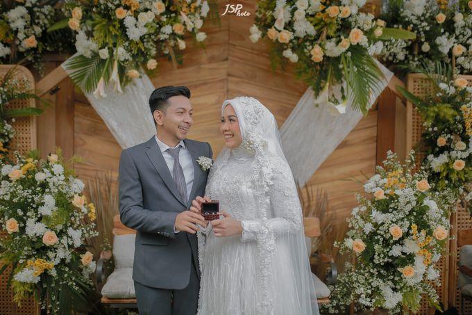The Wedding of Dila & Imam di Villa Vii by Decor Everywhere - 031