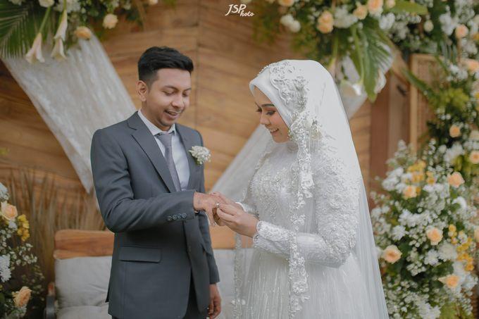 The Wedding of Dila & Imam di Villa Vii by Decor Everywhere - 032