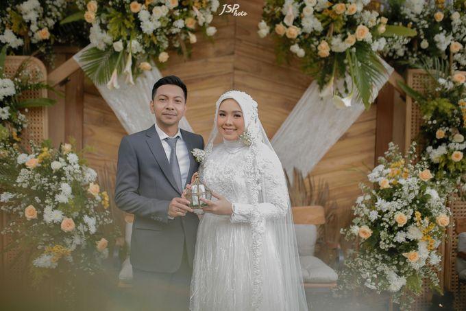 The Wedding of Dila & Imam di Villa Vii by Decor Everywhere - 034
